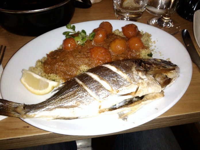 Fish in a dish