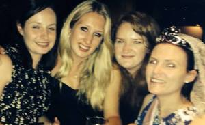 Hen Do with some of the wonderful people who make me run