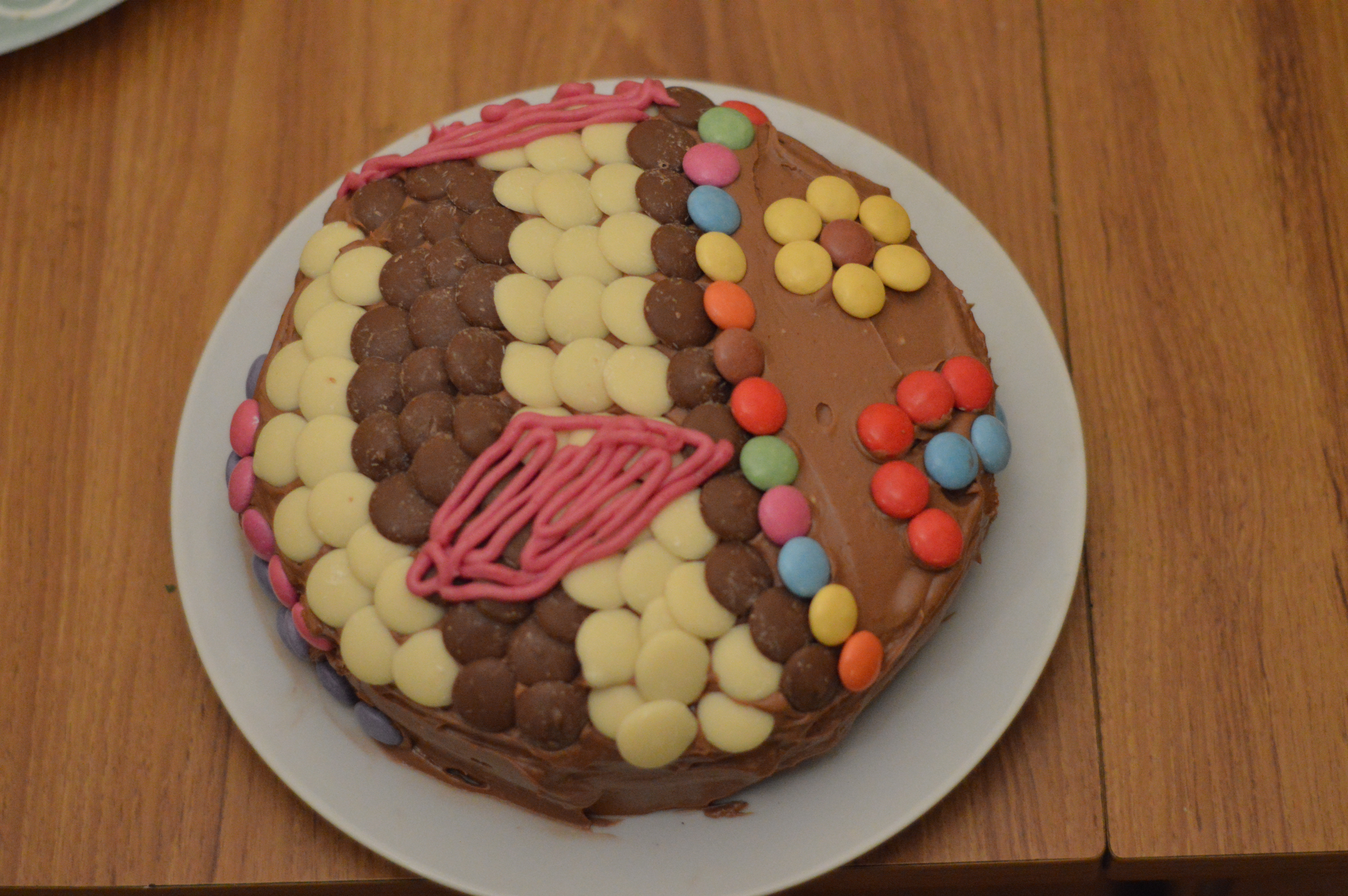 A fishy themed chocolate cake The Bunfight