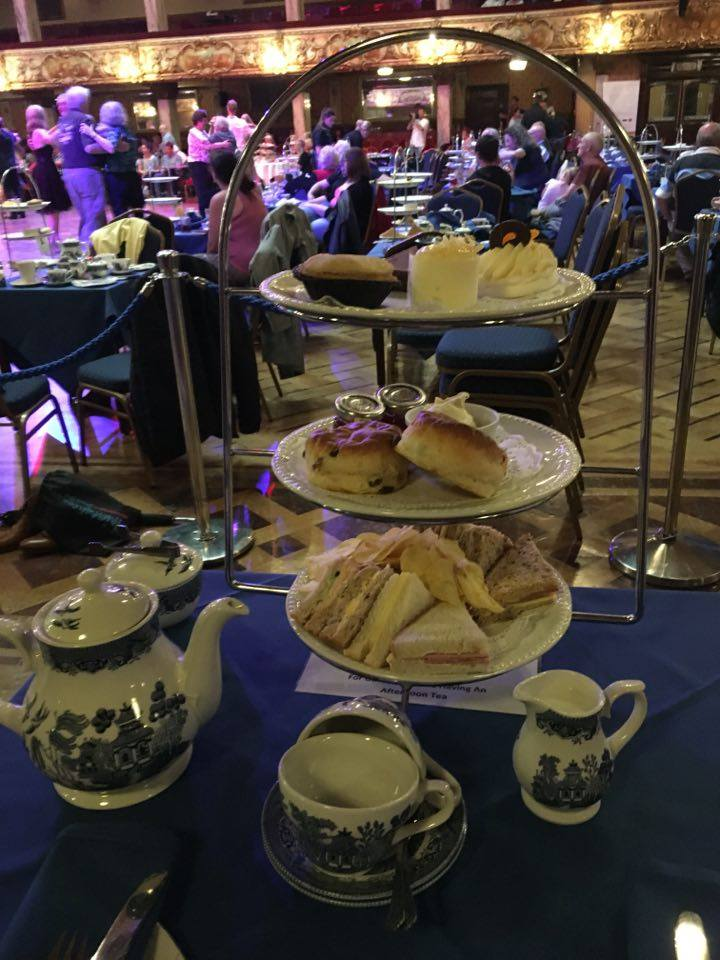 Afternoon Tea at Blackpool Tower Ballroom