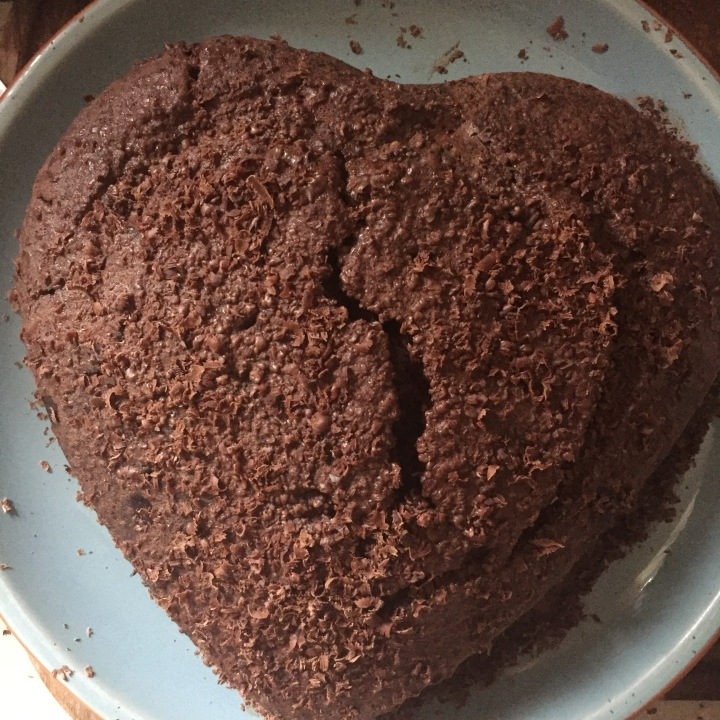 Perfect vegan chocolate cake