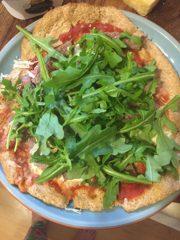 Healthy alternatives: wholemeal pizza bases